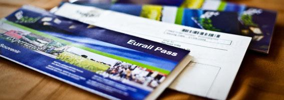 Chương trình khuyến mãi cho thẻ tàu Eurail Global Pass và Eurail Select Pass
