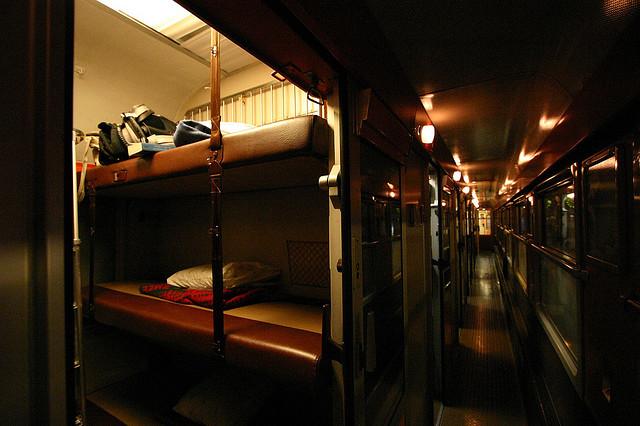 Du lịch bằng tàu đêm ở châu Âu