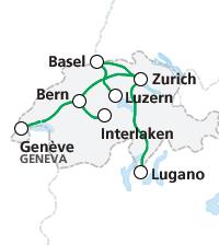 Hành trình tàu quốc tế đi tới và đi từ Thụy Sỹ
