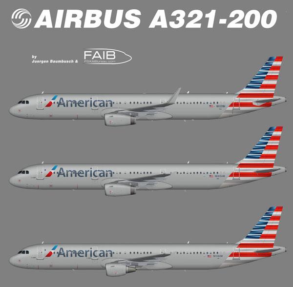 American Airlines đưa 3 loại máy bay mới vào khai thác