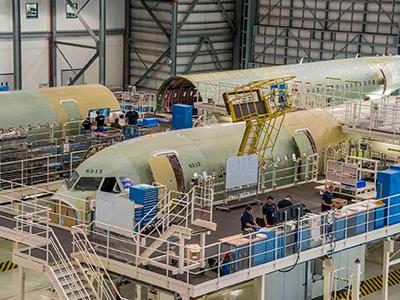 Thăm nhà máy sản xuất Boeing tại Mỹ