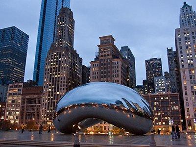 Vé máy bay đi Chicago, Mỹ