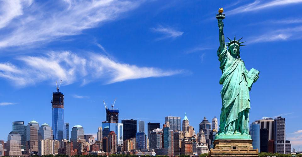 Tượng nư thần tự do - Biểu tượng của Mỹ