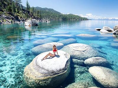Cận cảnh 4 hồ nước đẹp như trong tranh ở Mỹ