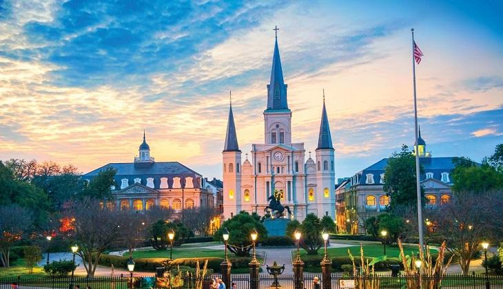 """New Orleans dịu dàng nhưng vẫn không kém phần """"nóng bỏng"""""""