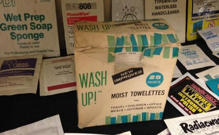 Độc đáo bảo tàng khăn giấy ướt ở Michigan